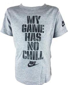 Nike Baby Boys 12 Months Explosive Football Short-Sleeve Tee Dark Grey Heather
