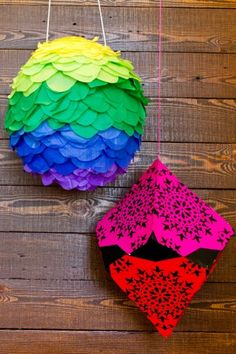DIY Pinatas, pinned with permission from refinery29