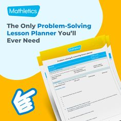 Download your free problem-solving lesson plan template. Habits Of Successful People, Lesson Plan Templates, Differentiation, Problem Solving, Classroom, How To Plan, Children, Free, Boys