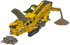A crusher is a machine designed to reduce large rocks into smaller rocks, gravel, or rock dust.