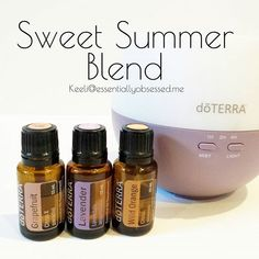 I have been diffusing the Sweet Summer Blend all week and absolutely love it!! In your diffuser combine 3 drops each Grapefruit, Lavender and Wild Orange and enjoy the uplifting / relaxing aroma! #doTERRA #essentialoils #oils                                                                                                                                                                                 More