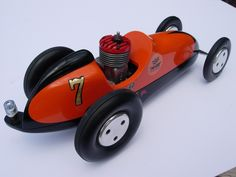 Great for the man who has everything.. McCoy .19 gas mite tether racer Class B proto designed by Curly