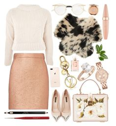 Designer Clothes, Shoes & Bags for Women Carven, Saks Fifth Avenue, Christmas Shopping, Maybelline, Polyvore Fashion, Topshop, Gucci, Louis Vuitton, Chanel