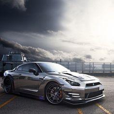 Nissan GTR:                        Looks like...                    Godzilla!