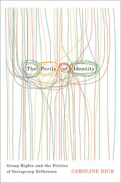 The Perils of Identity // Book cover design by David Drummond
