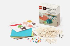 MUJI's has teamed up with LEGO on an interesting project. Combining LEGO's traditional block creations with paper, you're able to add a new dimension to pre-existing LEGO build-outs. Only available through MUJI stores.