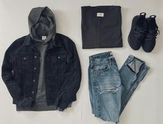 Tomboy Outfits, Swag Outfits, Mode Outfits, Casual Outfits, Men Casual, Fashion Outfits, Mode Masculine, Masculine Style, Hype Clothing