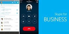 Another great news is here!!! #microsoft released #skype for business for #IOS users & for #android users as a preview. Android users have to wait till last of this year.