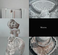 Greek Gods and their Roman counterparts   Athena & Minerva 2/2