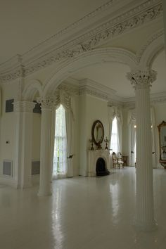 Louisiana Plantation House Interior