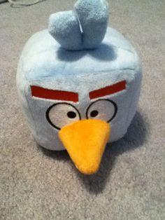 Angry birds stuffed animal