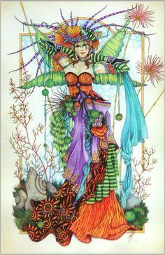 Enchanted Faerie Fantasy Art of Linda Ravenscroft