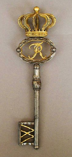 Palace Key, Germany, late 18th–early 19th century, the Metropolitan Museum of Art.