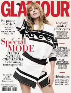 spécial mode: frida gustavsson by stefan heinrichs for glamour france october 2014