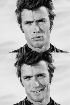 Clint Eastwood. *sigh* --- Look at that smile, geez!