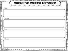 Narrative Writing {freebies}