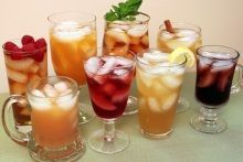 Refrigerator flavored ice tea.  It's easy!  Sun tea has been found to not be safe so this is how I do it now :-)