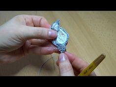 МК Вязание чашелистика для бутонов роз - YouTube