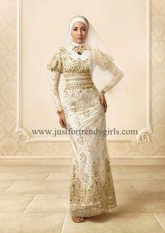 wedding dress hijabi style