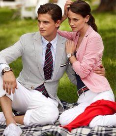 Preppy Style– love this blazer!