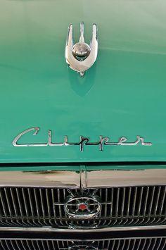 1955 Packard Clipper Hood Ornament by Jill Reger