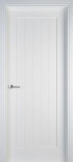 Mexicano White Primed Door (40mm)
