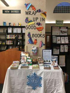 Winter Reading Display at May Memorial Library