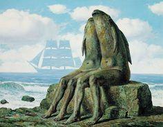 Les Merveilles de la nature - Rene Magritte