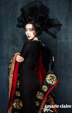 Intricate headdresses and cleavage aren't only to be found in The Empress of China; Fan Bingbing brings those characteristic elements of the (uncensored version of) The Empress of China to he…