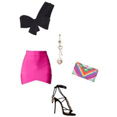 Untitled #353 by esmama on Polyvore featuring polyvore fashion style Marysia Swim Dsquared2