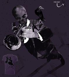 Estampa 'Good music never dies' no Camiseteria.com. Autoria de rodisley jose da silva. Votem! http://cami.st/d/52364