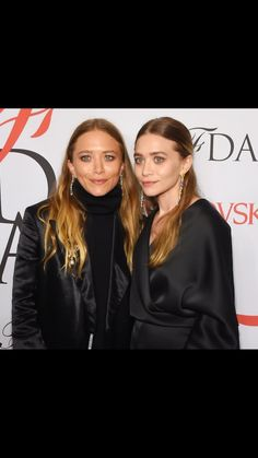 512f532558f7 Mary Kate and Ashley 2015 Full House Cast, Mary Kate Ashley, Cfda Awards,