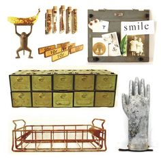 Vintage industrial = FUN!  Some of our favorites in our shop now.