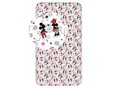Disney Minnie Mouse Girl - Hoeslaken - Eenpersoons - 90 x 200 cm - Wit