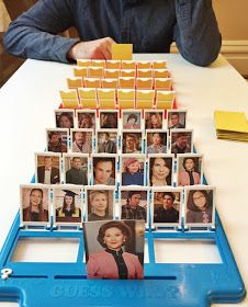 The Surznick Common Room: DIY Guess Who Game Templates
