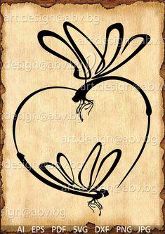 Dragonfly Drawing, Dragonfly Tattoo Design, Tattoo Designs, Dragonfly Art, Dragonfly Tatoos, Tattoo Son, Tatoo Art, Body Art Tattoos, Mother Daughter Tattoos