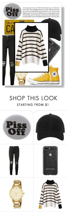 """""""Five Minute Office"""" by faaliyah49 on Polyvore featuring Humör, rag & bone, AMIRI, Converse and Kate Spade"""