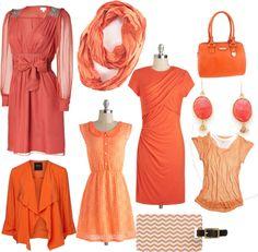 Spring 2013 Color Trend - Nectarine #fashion #springfashion