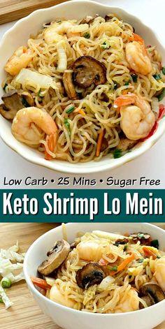 Seafood Recipes, Diet Recipes, Cooking Recipes, Healthy Recipes, Cooking Tips, Low Carb Shrimp Recipes, Food Tips, Food Food, Avocado Recipes