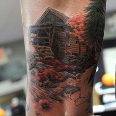 🍂🍁🌳#moge #empiretattoo #empiretattooinc #tattoo #bostontattoo www.empiretattooinc.com