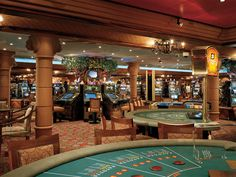 Casino on Carnival Freedom Ship