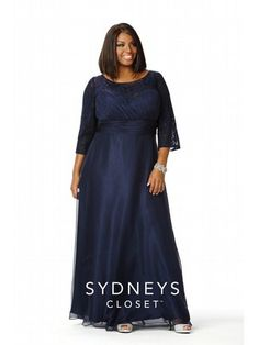 Midnight Blue Classic Gown
