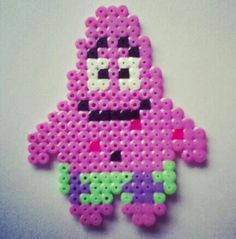 Patrick Star hama perler beads