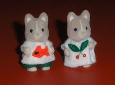 Sylvanian Baby Clothes!!! Instructions in French.