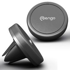 Phone Holder for Car - Air Vent Magnetic Car Phone Mount - Mengo Magna-Snap Car  #Mengo