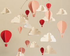 paper mobile, minus the balloons