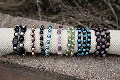 Shamballa Inspired Bracelets   Tutorial