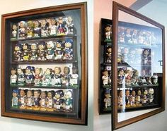 Because I have a bf who collects bobbleheads - a decent way to display them