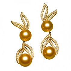 Earrings in the 'Anastasia' collection by Jewelmer