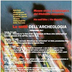 Le Notti dell'Archeologia al Museo archeologico e minerario di Rio nell'Elba  Blog Museo